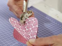 Walentynkowe inspiracje: papierowe serduszka walentynkowe