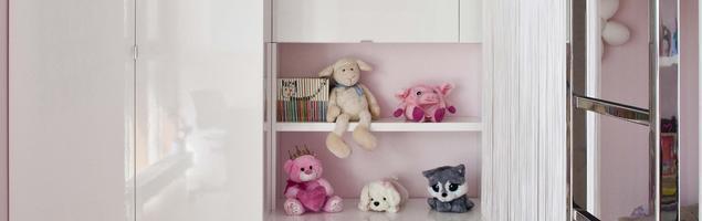 Pokój dla dziewczynki. Aranżacja wnętrza