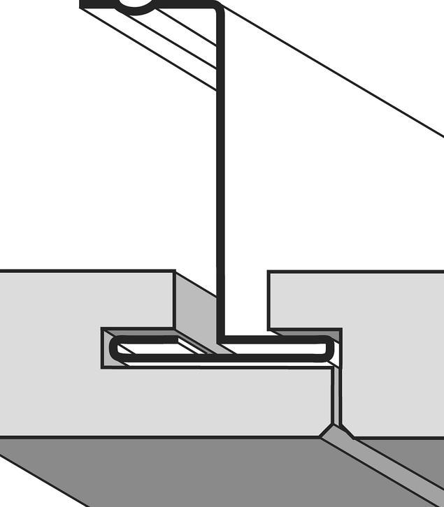 Rodzaje sufitów podwieszanych. Krawędzie płyt sufitowych