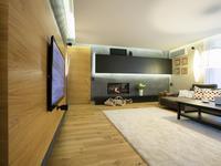 Aranżacja salonu z kominkiem w nowoczesnym stylu