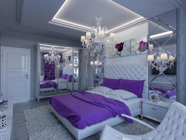 Zobacz Galerię Zdjęć Nowoczesna Sypialnia W Stylu Glamour