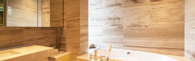 Pomysł na wnętrze, czyli drewno w łazience