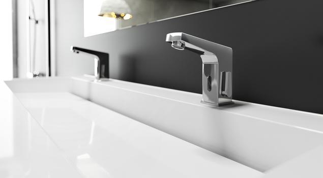 Ekologiczna łazienkowa bateria sensorowa do nowoczesnej łazienki