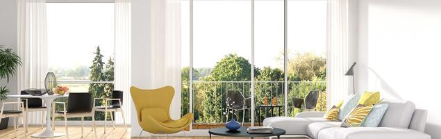 Modne kolory ścian – biel króluje we wnętrzach